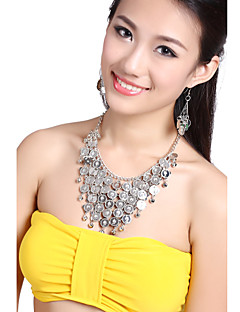 Performance Dancewear Alloy Belly Dance Necklace and Earrings For Ladies More Colors(A Set)