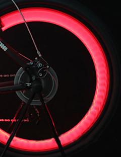 Luci bici , luci della rotella / luci tappo della valvola lampeggianti - 3 Modo Lumens batterie Batteria Ciclismo/BiciclettaBlu / Verde /