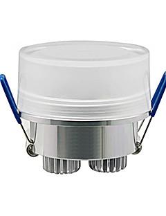 Plafonniers Blanc Chaud Encastrée Moderne 3 W 3 LED Haute Puissance 270 LM AC 100-240 V