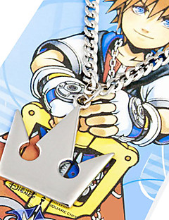 Jewelry Inspirirana Kingdom Hearts Sora Anime / Video Igre Cosplay Pribor Ogrlice Srebrna Alloy Male