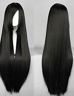 Nico · robin svart cosplay peruk