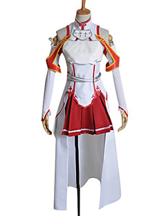 Inspired by Sword Art Online Asuna Yuuki Cosplay Costume