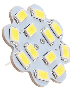 G4 6 W 12 SMD 5630 560 LM Natural White Ceiling Lights DC 12 V