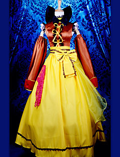 Inspired by Macross Frontier Ranka Lee Anime Cosplay Costumes Cosplay Suits Patchwork Yellow Top