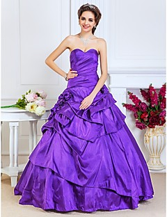 Prom/Formal Evening/Quinceanera/Sweet 16 Dress - Regency Plus Sizes A-line/Princess/Ball Gown Strapless/Sweetheart Floor-length Taffeta