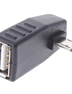 usb samice na micro USB mužské OTG adaptér pro mobilní telefony Samsung a další