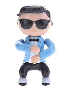 PSY Feature Clockwork Toy Dancing with Gangnam stil Musik (3xAG13)