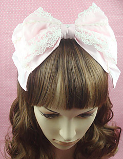 Rosa Cotton Bow Sweet Lolita Stirnband