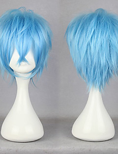 Cosplay Wigs Karneval Cosplay Blue Short Anime Cosplay Wigs 30 CM Male / Female