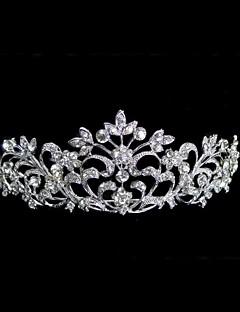 נשים ריינסטון סגסוגת כיסוי ראש-חתונה נזרים