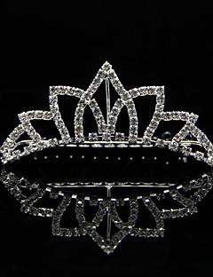 Dame / Blomsterpige Rhinestone / Legering Headpiece-Bryllup / Spesiell Leilighet Diademer