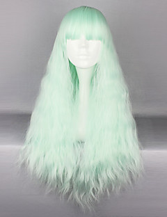Hime Cut Mint Long Sweet Lolita Wave Wig