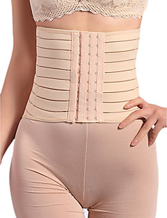Women's Underbust Corset Nightwear,RetroMedium Cotton Spandex Chinlon