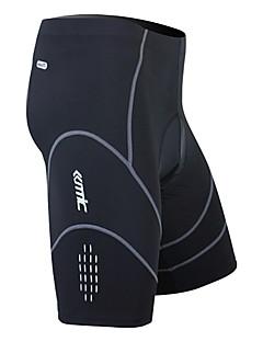SANTIC בגדי ריקוד גברים אופניים מכנסיים קצרים תחתיות ייבוש מהיר לביש נושם 3D לוח ספנדקס ניילון Coolmax אחיד אביב קיץ סתיו רכיבה על