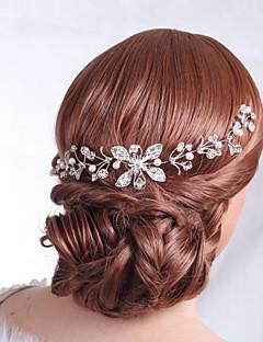 נשים סגסוגת כיסוי ראש-חתונה אירוע מיוחד פרחים