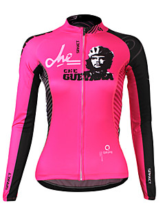 SPAKCT® Cycling Jersey Women's Long Sleeve BikeBreathable / Thermal / Warm / Quick Dry / Ultraviolet Resistant / Wearable / High