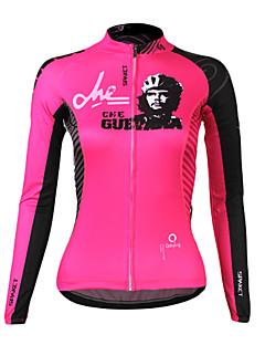 SPAKCT Cyklodres Dámské Dlouhé rukávy Jezdit na kole Dres Vrchní část oděvuZahřívací Rychleschnoucí Odolný vůči UV záření Nositelný