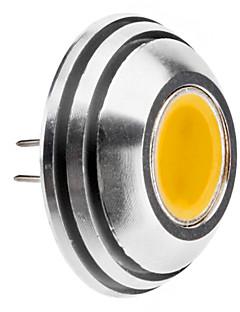 G4 1.5W 125-140LM 3000-3500K varmt hvidt lys Afrundet LED Spot Pære (12V)
