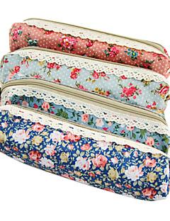 blomst blonder pen taske (tilfældig farve)