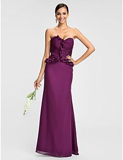 Vestido - Uva Sereia Curação Longo Chiffon