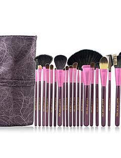 Make-up For You® 20pcs Makeup Brushes set Goat/Pony/Horse/Wool/Bristle Hair  Limits bacteria/Professional Purple Blush/Shadow Brush