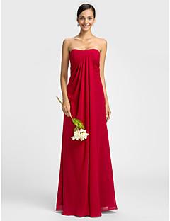 Lanting Bride® Šaty Pouzdrové Srdce Na zem Šifón s Křížení