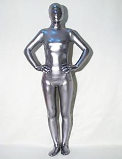 hopea kiiltävä metallinen lycra Zentai