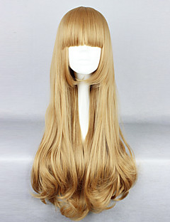 Lolita Wigs Classic/Traditional Lolita Lolita Long / Curly Golden Lolita Wig 80 CM Cosplay Wigs Solid Wig For Women