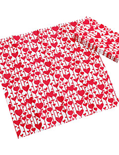 Red Heart Guest Towels (Set of 5 Packs)
