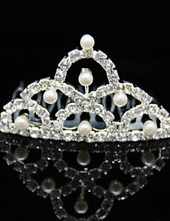 Licht Metaal Vrouwen Helm Bruiloft/Speciale gelegenheden Tiara's Bruiloft/Speciale gelegenheden