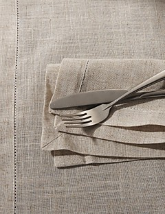 "18""X18"" Modern Style Linen Square Napkins"