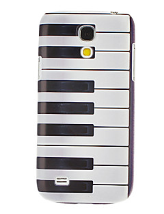 Piano Key Pattern Hard Case for Samsung Galaxy S4 mini I9190