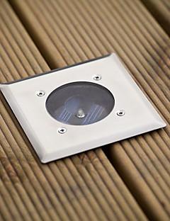 White Led Stainless Steel Solar Decking Lights(Cis-57103)