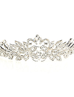 Pretty Alloy tiaraer med rhinestone For bryllup / spesiell anledning