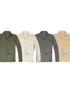 Men's Shirt Fishing / Exercise & Fitness / Racing / Leisure Sports / Beach Breathable / Quick Dry / Ultraviolet ResistantSpring / Summer