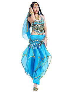 Performance Chiffon Belly Dance Outfits For Ladies(More Colors)