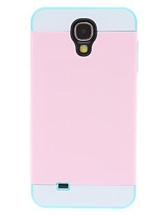 Aftagelig Color Matching beskyttende tilfældet for Samsung Galaxy S4 I9500 (Musselmalet sted for Card)