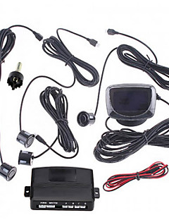Car LCD Screen Reverse Backup Radar Kit with 4 Sensors