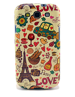 Eiffel Tower & Bread Glossy TPU Taske til Samsung Galaxy S3 i9300