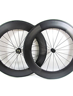 Farsports-700c Road 88mm Full Carbon Clincher Road sykkelhjul