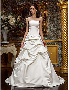 Lanting Bride® A-line / Princess Petite / Plus Sizes Wedding Dress - Classic & Timeless / Glamorous & Dramatic Fall 2013 / Spring 2014
