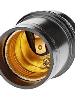E27 Droplight Lamp Holder (Black)