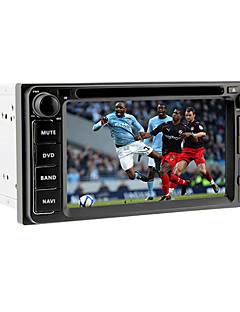 6.2Inch 2 Din Universal Car DVD Player for Toyota Before 2006 with GPS,IPOD,RDS,BT,TV,Touch Screen