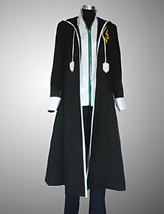 Inspired by Fairy Tail Gerard Fernandes Anime Cosplay Costumes Cosplay Suits Patchwork Black Long Sleeve Coat / Vest / Pants