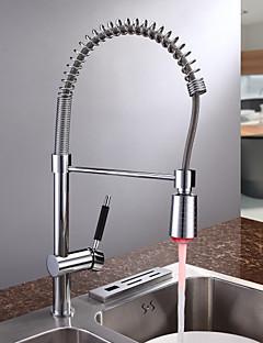 contemporain finition chromée mitigeur conduit robinet de cuisine