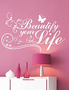 Ord Beautiful Life Wall Stickers