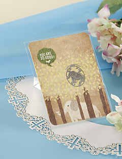 Sliver Elephant Bookmark