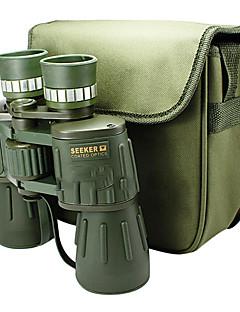 SEEKER 10X50 mm 双眼鏡 高解像度 ナイトビジョン 広角 BAK4 全面コーティング 115m/1000M センターフォーカス