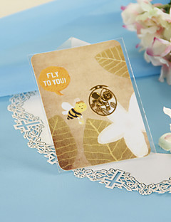 Golden Bee Bookmark