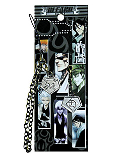 Bleach Elfte Team Agent Card Mobile Phone Strap Cosplay Tillbehör